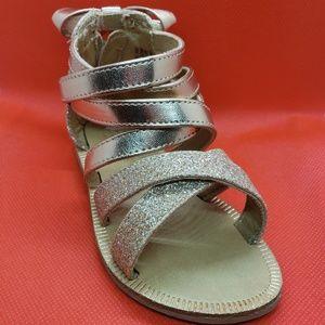Other - Toddler Gold Glitter Gladiator Sandals